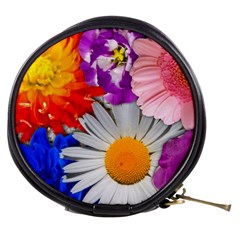 Lovely Flowers, Blue Mini Makeup Case