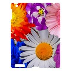 Lovely Flowers, Blue Apple Ipad 3/4 Hardshell Case by ImpressiveMoments