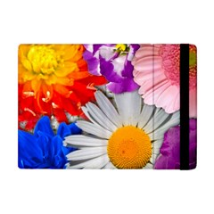 Lovely Flowers, Blue Apple Ipad Mini Flip Case by ImpressiveMoments