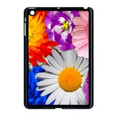 Lovely Flowers, Blue Apple Ipad Mini Case (black) by ImpressiveMoments