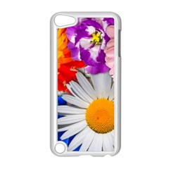 Lovely Flowers, Blue Apple Ipod Touch 5 Case (white) by ImpressiveMoments
