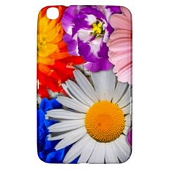 Lovely Flowers, Blue Samsung Galaxy Tab 3 (8 ) T3100 Hardshell Case  by ImpressiveMoments
