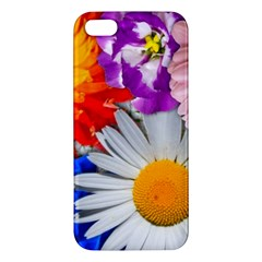 Lovely Flowers, Blue Iphone 5s Premium Hardshell Case by ImpressiveMoments