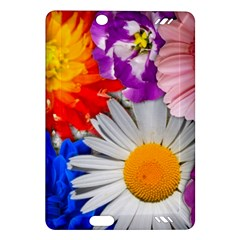 Lovely Flowers, Blue Kindle Fire Hd 7  (2nd Gen) Hardshell Case by ImpressiveMoments