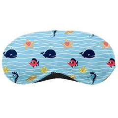 Fun Fish Of The Ocean Sleeping Mask