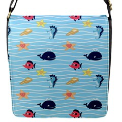 Fun Fish Of The Ocean Flap Closure Messenger Bag (small) by StuffOrSomething