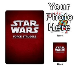 Star Wars Force Struggle (love Letter Retheme) By Ryno   Multi Purpose Cards (rectangle)   Ooojaz6f6ogv   Www Artscow Com Back 8