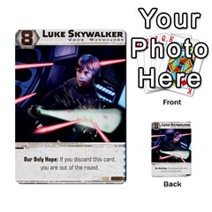 Star Wars Force Struggle (love Letter Retheme) By Ryno   Multi Purpose Cards (rectangle)   Ooojaz6f6ogv   Www Artscow Com Front 16
