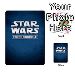 Star Wars Force Struggle (love Letter Retheme) By Ryno   Multi Purpose Cards (rectangle)   Ooojaz6f6ogv   Www Artscow Com Back 20