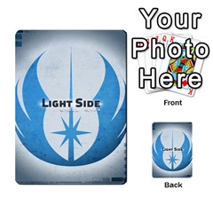 Star Wars Force Struggle (love Letter Retheme) By Ryno   Multi Purpose Cards (rectangle)   Ooojaz6f6ogv   Www Artscow Com Front 50