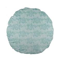 A Is For 15  Cushion By Zornitza   Standard 15  Premium Round Cushion    Hd06x522w95u   Www Artscow Com Back