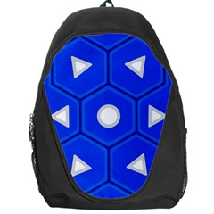 Blue Spiny Shell Backpack Bag