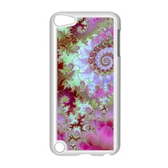Raspberry Lime Delight, Abstract Ferris Wheel Apple Ipod Touch 5 Case (white) by DianeClancy