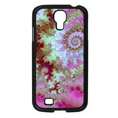 Raspberry Lime Delight, Abstract Ferris Wheel Samsung Galaxy S4 I9500/ I9505 Case (black) by DianeClancy