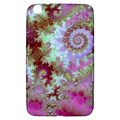 Raspberry Lime Delight, Abstract Ferris Wheel Samsung Galaxy Tab 3 (8 ) T3100 Hardshell Case  by DianeClancy