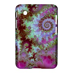 Raspberry Lime Delight, Abstract Ferris Wheel Samsung Galaxy Tab 2 (7 ) P3100 Hardshell Case  by DianeClancy
