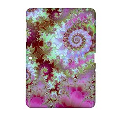 Raspberry Lime Delight, Abstract Ferris Wheel Samsung Galaxy Tab 2 (10 1 ) P5100 Hardshell Case  by DianeClancy