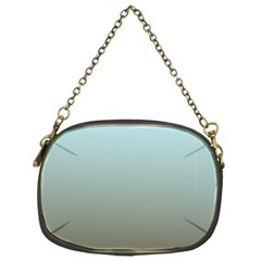 Blue Gold Gradient Chain Purse (one Side)