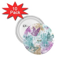 Joy Butterflies 1 75  Button (10 Pack) by zenandchic