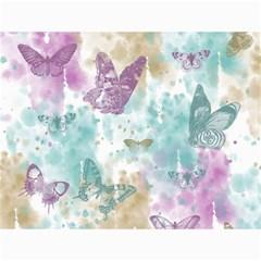 Joy Butterflies Canvas 18  x 24  (Unframed)
