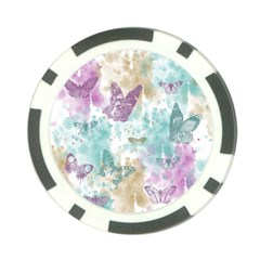 Joy Butterflies Poker Chip (10 Pack) by zenandchic