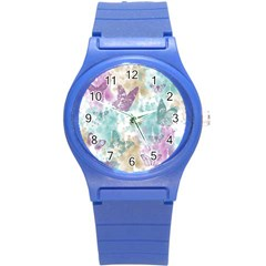 Joy Butterflies Plastic Sport Watch (small) by zenandchic
