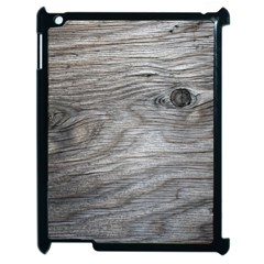 Weathered Wood Apple Ipad 2 Case (black) by chivieridesigns