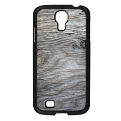 Weathered Wood Samsung Galaxy S4 I9500/ I9505 Case (black) by chivieridesigns