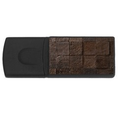 Wood Mosaic 4gb Usb Flash Drive (rectangle) by chivieridesigns