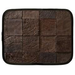 Wood Mosaic Netbook Sleeve (xl) by chivieridesigns