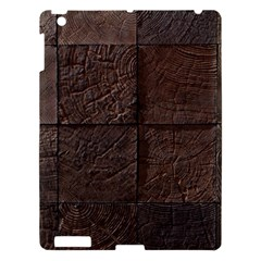Wood Mosaic Apple Ipad 3/4 Hardshell Case by chivieridesigns