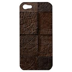 Wood Mosaic Apple Iphone 5 Hardshell Case