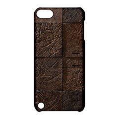 Wood Mosaic Apple Ipod Touch 5 Hardshell Case With Stand by chivieridesigns
