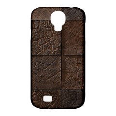 Wood Mosaic Samsung Galaxy S4 Classic Hardshell Case (pc+silicone) by chivieridesigns