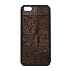 Wood Mosaic Apple Iphone 5c Seamless Case (black) by chivieridesigns