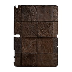 Wood Mosaic Samsung Galaxy Note 10 1 (p600) Hardshell Case by chivieridesigns
