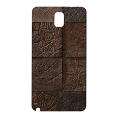 Wood Mosaic Samsung Galaxy Note 3 N9005 Hardshell Back Case by chivieridesigns