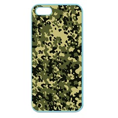 Camouflage Apple Seamless Iphone 5 Case (color) by chivieridesigns