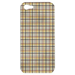 Plaid 4 Apple Iphone 5 Hardshell Case by chivieridesigns