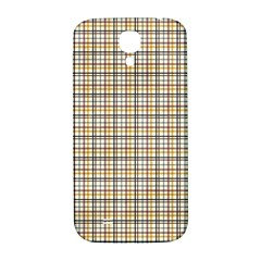 Plaid 4 Samsung Galaxy S4 I9500/i9505  Hardshell Back Case by chivieridesigns