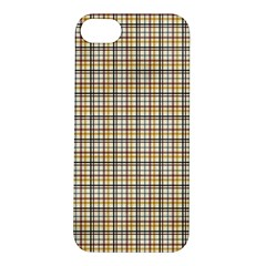 Plaid 4 Apple Iphone 5s Hardshell Case by chivieridesigns