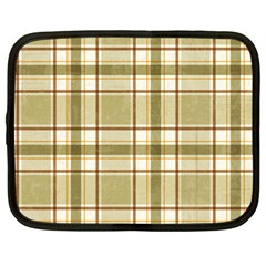 Plaid 9 Netbook Sleeve (large) by chivieridesigns