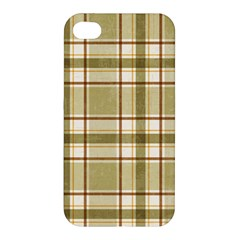 Plaid 9 Apple Iphone 4/4s Hardshell Case by chivieridesigns