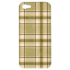 Plaid 9 Apple Iphone 5 Hardshell Case by chivieridesigns