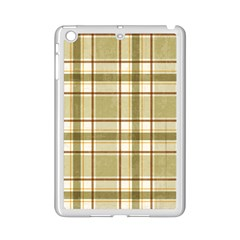 Plaid 9 Apple Ipad Mini 2 Case (white) by chivieridesigns