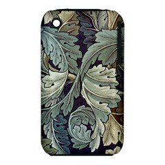 William Morris Apple Iphone 3g/3gs Hardshell Case (pc+silicone) by chivieridesigns