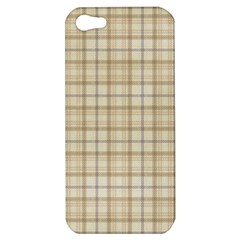 Plaid 7 Apple Iphone 5 Hardshell Case by chivieridesigns