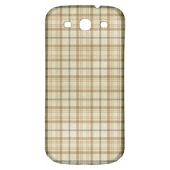 Plaid 7 Samsung Galaxy S3 S Iii Classic Hardshell Back Case by chivieridesigns
