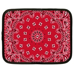 Bandana Netbook Sleeve (xl) by chivieridesigns