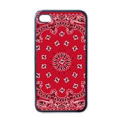 Bandana Apple Iphone 4 Case (black) by chivieridesigns